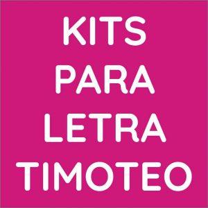 Kits para letra Timoteo